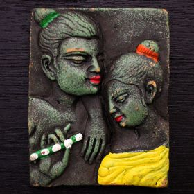 Tribal Couple Pendant Mould