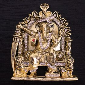 Lambakarna  Ganesha Temple Mould